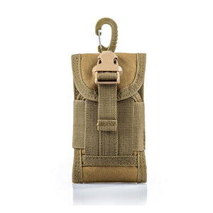 Molle Water-Resistant Phone Pouch from Focus Tactical - Khaki