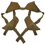 Tactical Shoulder Double Holster from Focus Tactical - Khaki