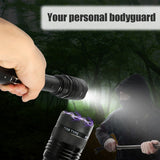 Dimming LED Electric Shock EU Flashlight - Features