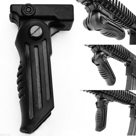 Focus Tactical 5-Position Adjustable Vertical Foregrip - Positions