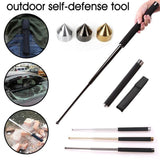 Retractable Hiking Self Defense Stick - Features
