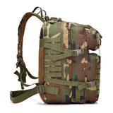 Multifunction Molle Bug Out Bag (30L or 40L) from Focus Tactical - Side View