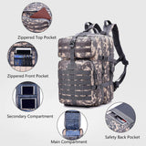 Multifunction Molle Bug Out Bag (30L or 40L) from Focus Tactical - Interior Features