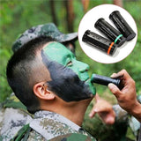 3pcs Camouflage Face Paint Sticks from Focus Tactical - Usage
