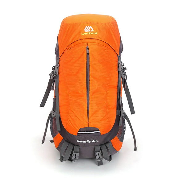 40L Hiking Backpack with 10L Extension from Focus Tactical - Orange