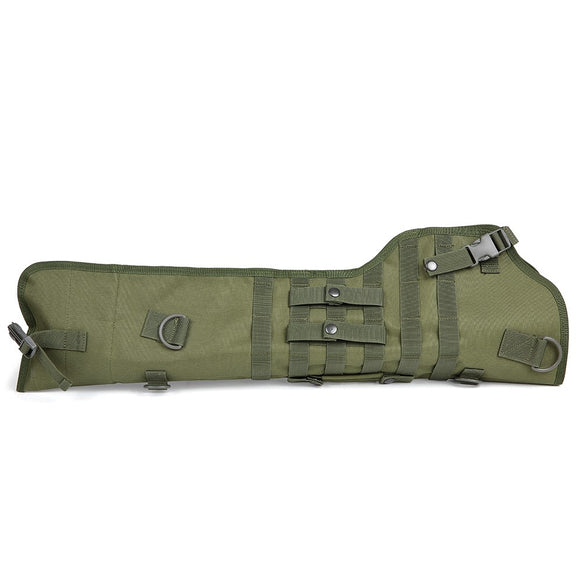 Folding MOLLE Scabbard Shoulder Bag from Focus Tactical - Green