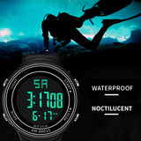 Mens Sport Noctilucent Waterproof Watch from Focus Tactical
