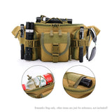 Multi-Compartment Waist / Shoulder Pack - Features