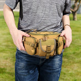Multi-Compartment Waist / Shoulder Pack - On Body