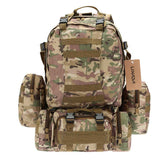 Military MOLLE Backpack with Detachable Pouches from Focus Tactical - 3