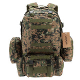 Military MOLLE Backpack with Detachable Pouches from Focus Tactical - 2
