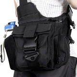 Shoulder Strap Travel Pouch - In Use