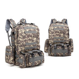 4-in-1 Tactical Backpack with MOLLE Webbing - 9