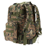 4-in-1 Tactical Backpack with MOLLE Webbing - Straps
