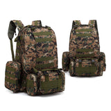 4-in-1 Tactical Backpack with MOLLE Webbing - 8