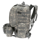 4-in-1 Tactical Backpack with MOLLE Webbing - Side View