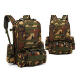 4-in-1 Tactical Backpack with MOLLE Webbing - 7