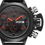 Megir Sport Water Resistant Silicone Quartz Muti-Function Military Wristwatch from Focus Tactical.