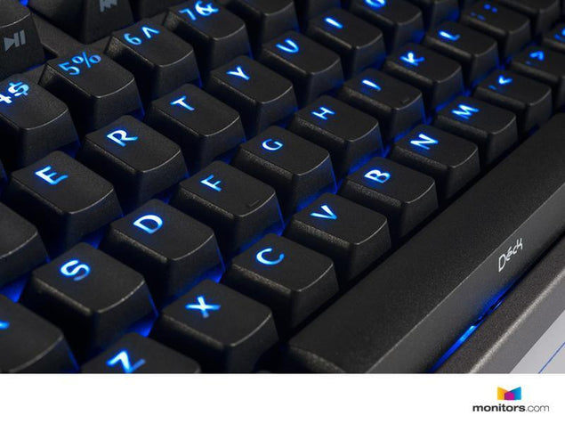 New Deck Keyboard Hassium Pro - 108 key Blue LED's and Red Switches (KBA-CBL108P-BLU-DPU-L1)
