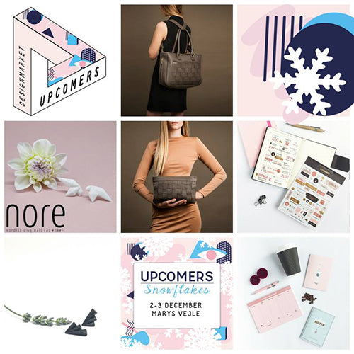 New products at Upcomers Snowflakes + New printable on Valdemarsro
