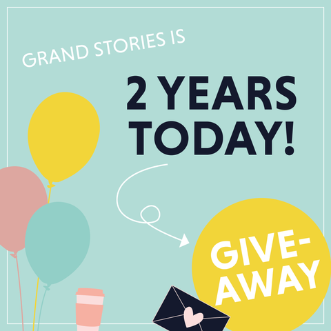 Grand Stories Design is 2 years old today