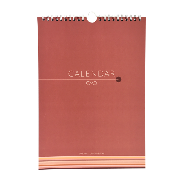 Wall calendar by Grand Stories Design