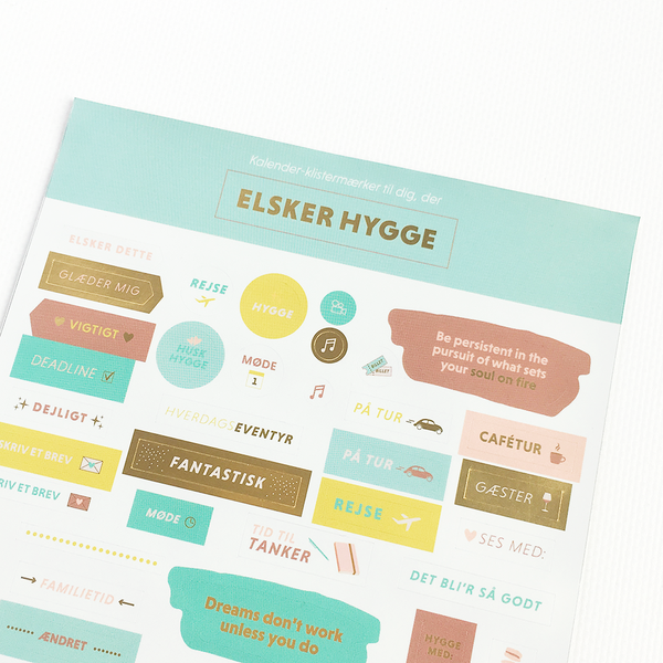 Hygge stickers grand stories design