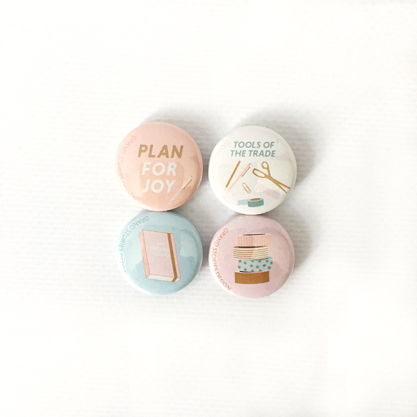 Planner themed badges