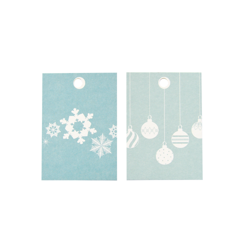 Gift tags - greens