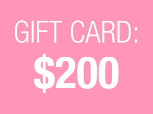 $200 Gift Card