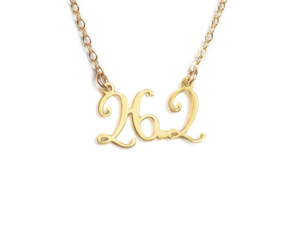 26.2 Marathon Necklace - Brevity Jewelry - Made in USA - Affordable Gold and Silver Jewelry