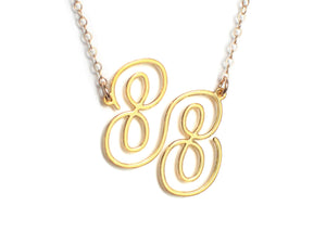 88 Necklace - Brevity Jewelry - Made in USA - Affordable Gold and Silver Jewelry