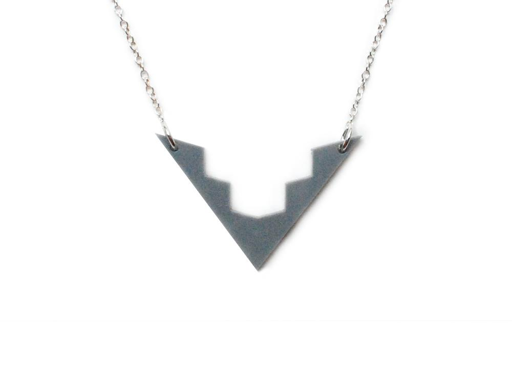 Aztec Necklace - Brevity Jewelry - Made in USA - Affordable Gold and Silver Jewelry