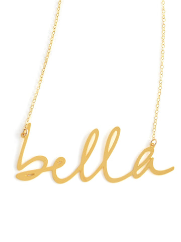 Bella Necklace - Brevity Jewelry - Made in USA - Affordable Gold and Silver Jewelry