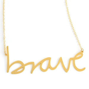 Brave Empowerment Necklace