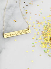 Don't Wait, Celebrate {{ product.type }} - Brevity Jewelry - Made in USA - Affordable gold and silver necklaces