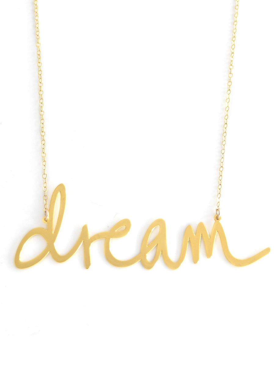 Dream - XX {{ product.type }} - Brevity Jewelry - Made in USA - Affordable gold and silver necklaces