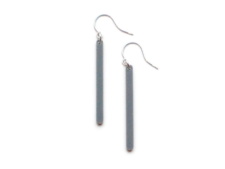 Bar Earrings - FREE GIFT! {{ product.type }} - Brevity Jewelry - Made in USA - Affordable gold and silver necklaces