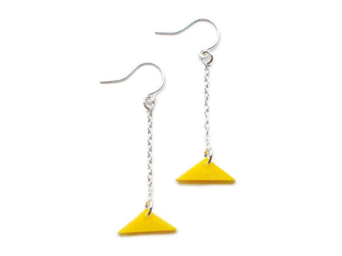 Triangle Earrings - FREE GIFT!