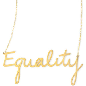 Equality Empowerment Necklace