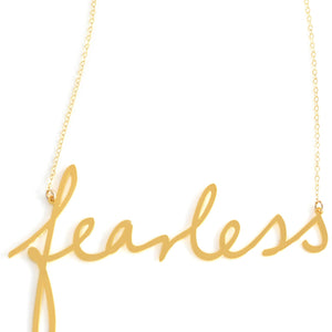 Fearless Empowerment Necklace