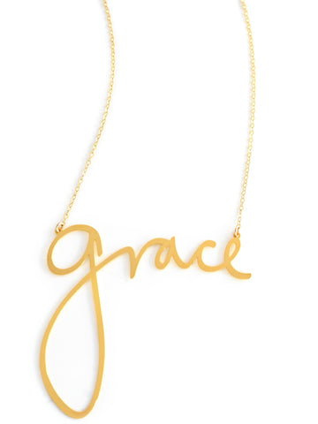 Grace Necklace - Brevity Jewelry - Made in USA - Affordable Gold and Silver Jewelry