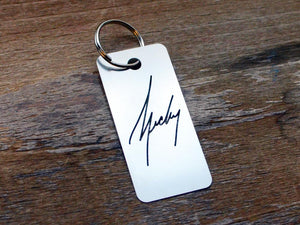 Signature Key Chain - Brevity Jewelry - Made in USA - Affordable Gold and Silver Jewelry