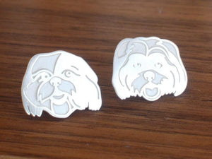 Double Pet Portrait Cufflinks