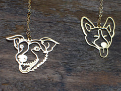 Pet Portrait Necklace
