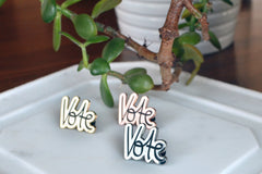 Vote Pin - Brevity Jewelry - Made in USA - Affordable Gold and Silver Jewelry