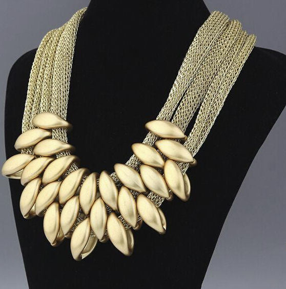 Hand Woven Statement Necklace Breon-Jovon