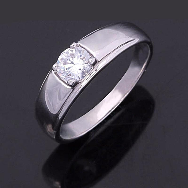 Classic Solitaire Engagement Ring Breon-Jovon