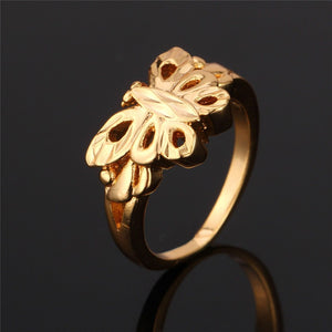 Golden Butterfly Party Ring Breon-Jovon