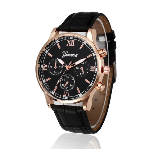 Men Luxury Business Quartz Watch Breon-Jovon